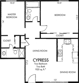 Cypress Two bedroom