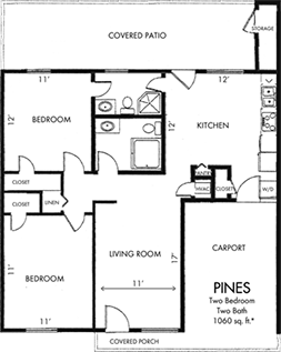 Pines Two bedroom